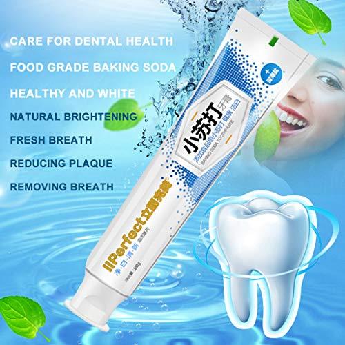 99native Stain Removal Whitening Zahnpasta, Backpulver Für weiße Zähne, Natürliche Zahnaufhellung, Aktivkohle für die Zähne, Zahnbleaching,Verhindert Karies und stärkt Zähne und Zahnfleisch (100g)