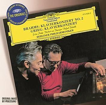 Brahms: Piano Concerto No. 2 / Grieg: Piano Concerto
