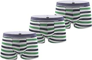 HEFASDM Mens Underwear Seamless Cozy 3-Pack Breathable Modal Boxer Brief