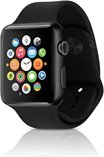 Apple Watch Series 2 Smartwatch 42mm Space Gray Aluminum Case, Black Sport Band (Renewed)