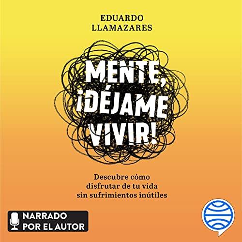 Diseño de la portada del título Mente, déjame vivir