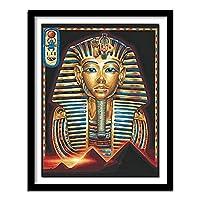 5dダイヤモンド絵画フルダイヤモンドクロスステッチ針仕事ダイヤモンド刺繡宗教エジプトラインストーンスクエアの写真40x50cm