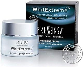 WhitExtreme CREMA ACLARANTE para las manchas producidas por la edad. Tratamiento para la piel dañada por el sol y arruga...