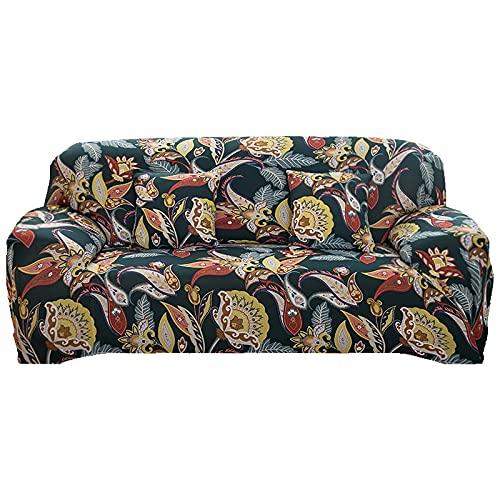 MKQB Funda de sofá elástica elástica para Sala de Estar, Funda de sofá con combinación de Esquina en Forma de L, Funda de sofá para Muebles de protección para Mascotas NO.9 S (90-140cm