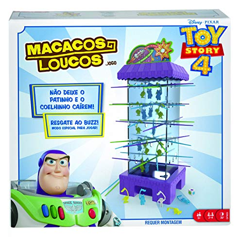 Macacos Loucos, Toy Story 4, Mattel, Multicor