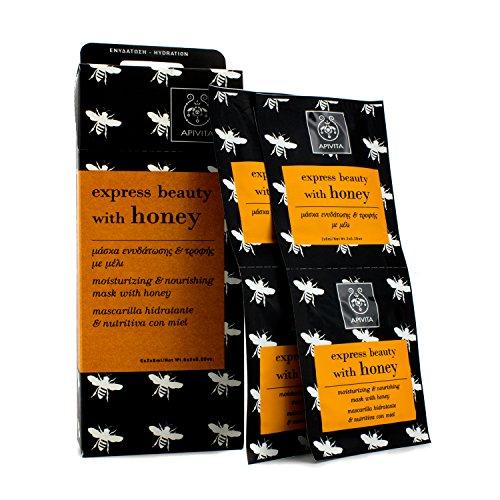 Apivita - Express Beauty Moisturizing &Amp; Nourishing Mask With Honey 6X(2X8Ml) - Soins De La Peau