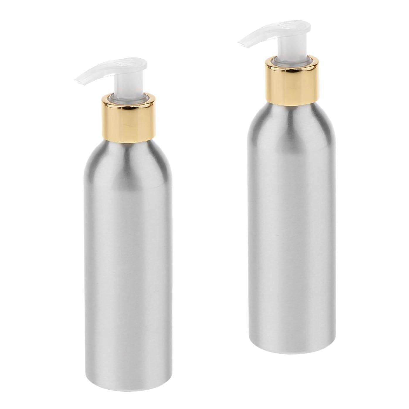 ローン枯れる法令Fenteer 2本 スプレーボトル ポンプボトル アルミボトル 香水ボトル シャンプー 噴霧器 アトマイザー 詰替え DIY 6サイズ選択 - 150m