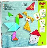 HABA-305777 Composición Mix de Tangram Juego de Piezas, Multicolor (305777)