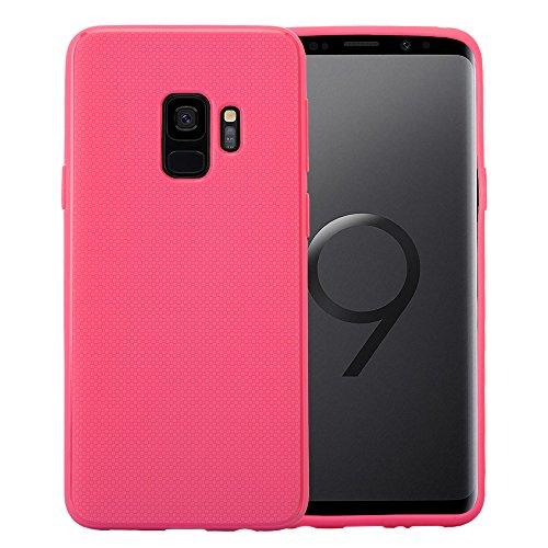 Lobwerk Teléfono móvil para Samsung Galaxy S9SM de g9605.8Pulgadas Flexible TPU Case Funda Blanda de Material