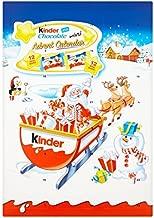 kinder surprise christmas calendar
