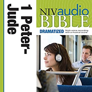 NIV Audio Bible, Dramatized: 1 and 2 Peter, 1, 2 and 3 John, and Jude cover art