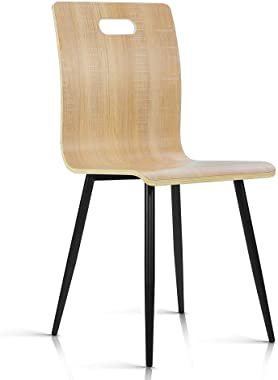 Artiss Bentwood Dining Chairs Set of 4 - Natural