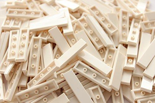 Lego 25x 2431 Fliese 1x4 | Weiss