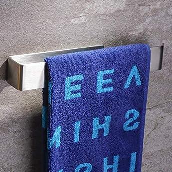 Foto di ZUNTO 26cm Anello Portasciugamani, Porta Salviette Autoadesivo Porta Asciugamano in Acciaio Inox per Bagno e Cucina