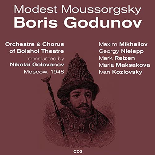Maxim Mikhailov, Georgy Nielepp, Mark Reizen, Maria Maksakova & Ivan Kozlovsky