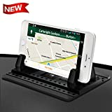 Cell Phone Holder for Car - FITFORT Universal Silicone Anti-Slip Car Phone Mount...