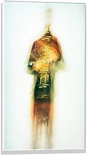 Kunst für Alle Imagen en Vidrio: Joan Gil Raga Clarinet, Mural, magnífica impresión de Arte sobre auténtico Vidrio, 40x60 cm