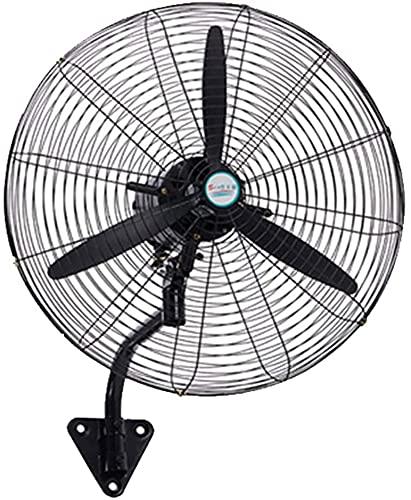Ventilador eléctrico industrial del ventilador de la pared del hogar, ventilador de pared, ajuste de tres velocidades Ventilador eléctrico de silencio interior y al aire libre Pequeño ventilad