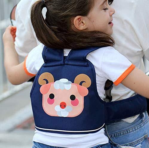 Cintura da bambino per motocicletta, Cintura da bicicletta per bambino Cintura di sicurezza regolabile Cintura di protezione per neonati Imbracatura per zaino(pecora)