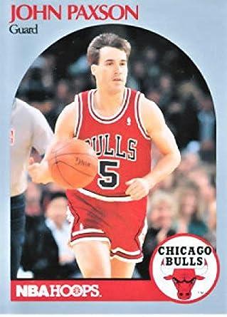Amazon.com: 1990-91 Hoops Basketball #67 John Paxson Chicago Bulls :  Collectibles & Fine Art