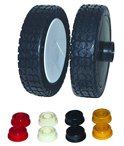 Greenstar Ring mit Kunststoff-Rad Universalgröße, schwarz, 27213