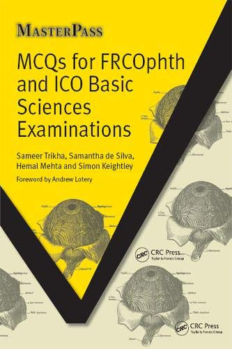 MCQs for FRCOphth and ICO Basic Sciences Examinations (Masterpass)