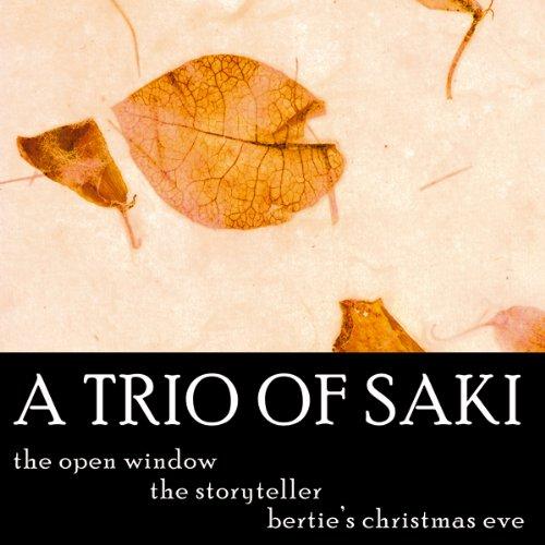 A Trio of Saki audiobook cover art