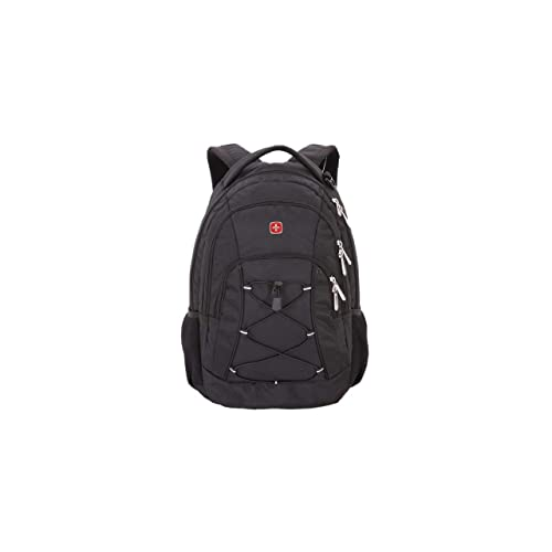 """SwissGear 1186 Laptop Backpack. Sturdy & Durable Laptop Backpack for Travel and Work (17.5"""", Black)"""