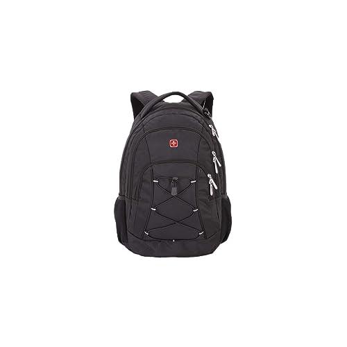 SwissGear 1186 Travel Bungee Backpack (Black)
