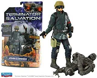 Topps Terminator Salvation John Connor With T-600 Torso Six Inch Action Figure by Playmates