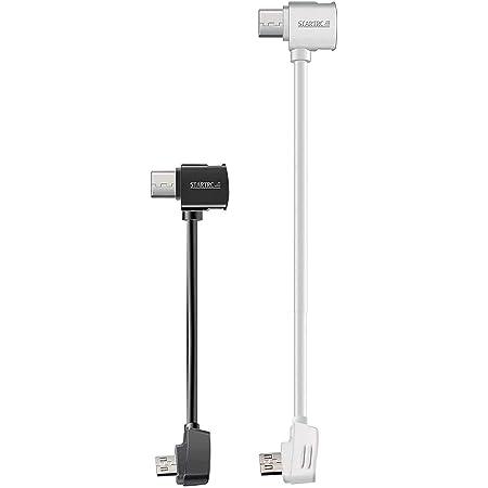 STARTRC 3.9 and 11.8inch OTG USB Cable for DJI Controller Cables//DJI OTG Cable iOS for DJI Mavic Mini//Mavic 2 Pro//Zoom//Mavic Pro//Platinum//Spark//Mavic Air Two Pack