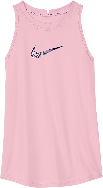Nike Dri-FIT Trophy Big Kids(Girls) Training Tank DA1370-658 (Arctic Punch)