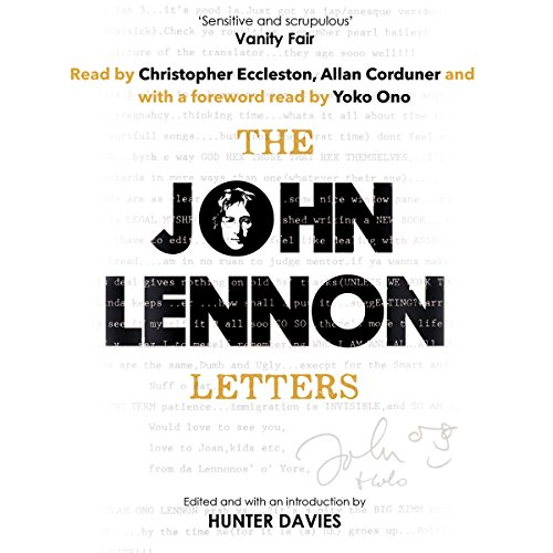 The John Lennon Letters audiobook cover art
