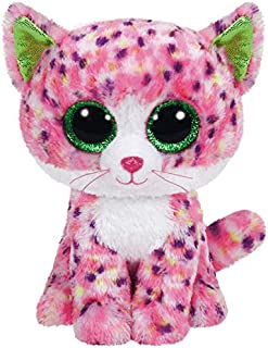 Ty Sophie Pink Polka Dot Cat Boo Small - Stuffed Animal (36189)