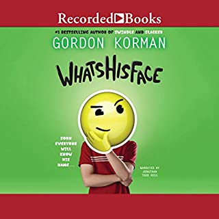 Whatshisface audiobook cover art