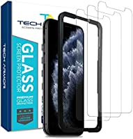 Tech Armor Ballistic Glass Screen Protector for Apple iPhone 11 Pro Max / iPhone Xs Max - Case-Friendly Tempered Glass...