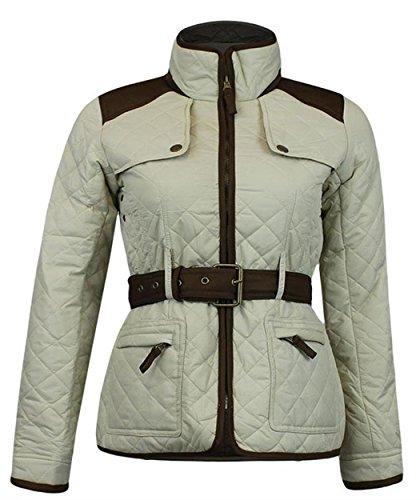 Xclusive Plus Abrigo/chaquetón Forrado - de Color Color Beige para Mujer de Talla S