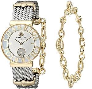 Charriol Women's ST30YC560012 St Tropez Analog Display Swiss Quartz Silver Watch