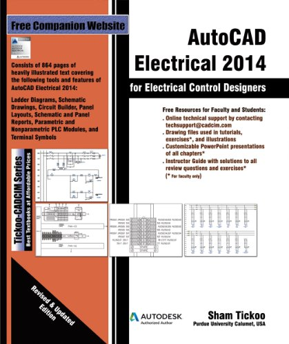 AutoCAD Electrical 2014 for Electrical Control Designers (English Edition)