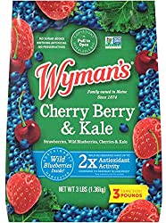 Wyman's of Maine, Cherry, Berry with Kale, 3 Pound (Packaging May Vary)