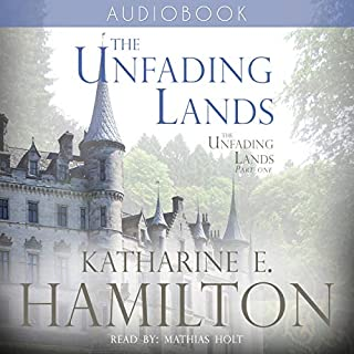 The Unfading Lands audiobook cover art