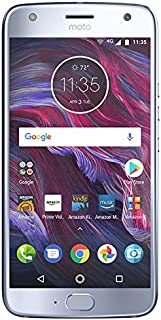 Moto X (4th Generation) - with hands-free Amazon Alexa – 32 GB - Unlocked – Sterling Blue - Prime Exclusive - with Lockscr...