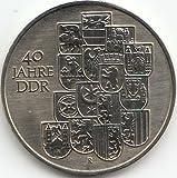 DDR Jägernr: 1630 1989 A Stgl./unzirkuliert Neusilber 1989 10 Mark 40 Jahre DDR (Münzen für Sammler)
