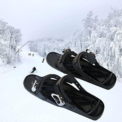 YYZS Tacos de Tracción, Tacos de Hielo de Invierno, Raquetas de Nieve de Aluminio, Calzado de Esquí, Cubiertas Antideslizantes para Zapatos, Trineo, Raquetas de Nieve Ligeras, para Senderismo