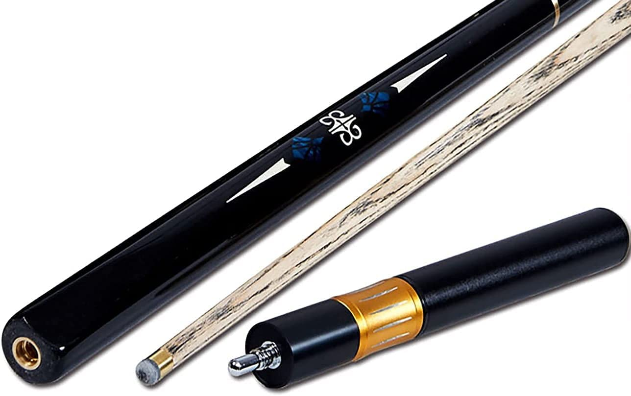 YAOJIA Pool Limited price cues Sticks 3 4 18Oz Wood Ash 57in Indianapolis Mall Jointed Billiard