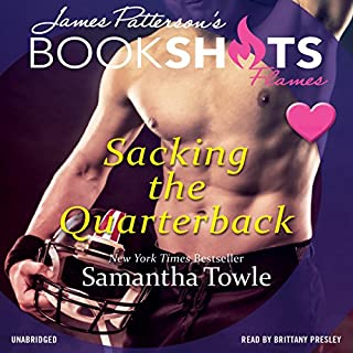 Sacking the Quarterback audiobook cover art