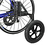 CyclingDeal Adjustable Adult Bicycle Bike Stabilizers Training Wheels Fits 20' to 29' - Heavy Duty
