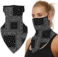 Nahtlose Bandana Face Shield Halstuch Schlauch Multifunktionstuch Schal Gesichtsmaske Balaclava, Flexibel Stirnband...