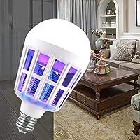 KinshopS - Bombilla LED antimosquitos con Doble Uso (9 W)