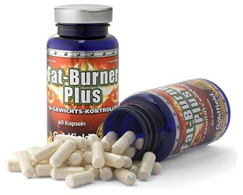 Goldfield Fatburner Plus Neu | 60 Kapseln, Tabletten, Pillen | mit Vitamin C, B2 - Garcinia Cambogia + Guarana Extrakt - Fettverbrenner, Fettburner